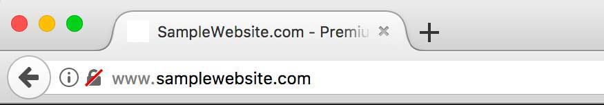Firefox Address Bar - October 9, 2017